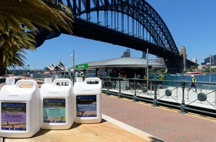 Milsons Point Wharf project